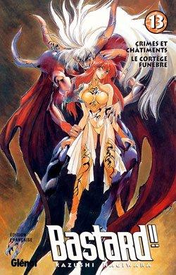 couverture, jaquette Bastard !! 13 2nde édition (Glénat Manga) Manga