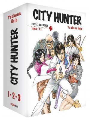 City Hunter édition Coffret 1 à 3