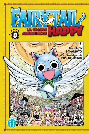 Fairy tail - La grande aventure de Happy 8 Simple