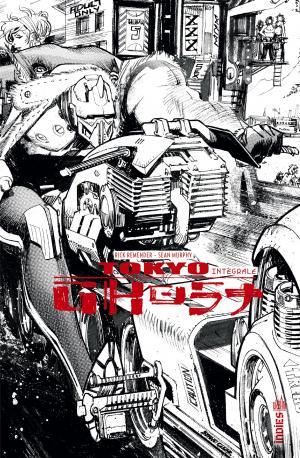 Tokyo Ghost édition TPB hardcover (cartonnée) - Intégrale N et B