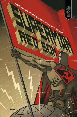 Superman - Red Son  TPB hardcover (cartonnée) - DC Black Label