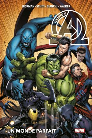 New Avengers # 2 TPB Hardcover - Marvel Deluxe V3 - Issues V3