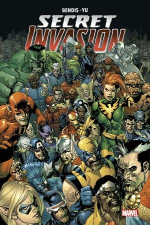 Secret Invasion  TPB Hardcover - Marvel Deluxe