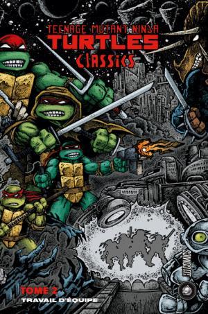 Teenage Mutant Ninja Turtles Classics 2 TPB hardcover (cartonnée)