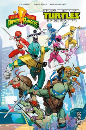 Mighty Morphin Power Rangers/Teenage Mutant Ninja Turtles édition TPB hardcover (cartonnée)
