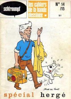 Schtroumpf Les cahiers de la bande dessinée 14 Magazine
