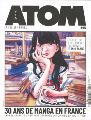 couverture, jaquette Atom 15  (Custom Publishing France)