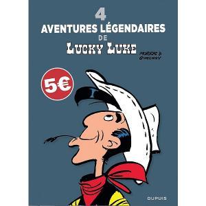Lucky Luke 1 - 4 aventures légendaires de lucky luke