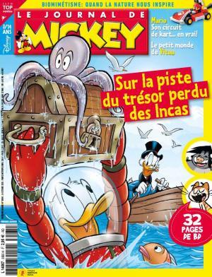 Le journal de Mickey 3565 - Sur la piste du trésor perdu des incas