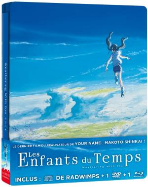 Les Enfants du temps  Steelbook Combo Blu-ray/DVD/CD