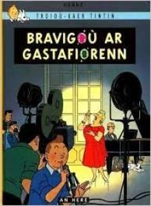 couverture, jaquette Tintin (Les aventures de) 21  - Bravigoù ar GastafiorennBreton (casterman bd)