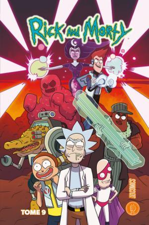 Rick et Morty 9 TPB hardcover (cartonnée)