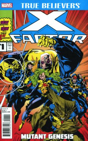 True Believers - X-Factor édition Issues
