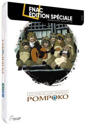 Pompoko  FNAC collector métal