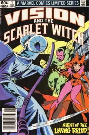 Vision et La sorcière rouge édition Issues V1 (1982 - 1983)