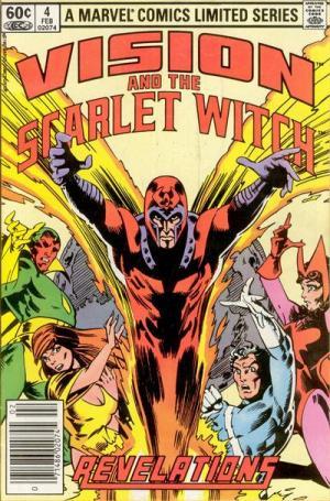 Vision et La sorcière rouge # 4 Issues V1 (1982 - 1983)