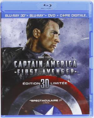 Captain America : First Avenger édition Combo