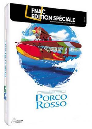 Porco Rosso édition FNAC collector métal