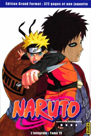 Naruto Collector kiosque 15 Manga
