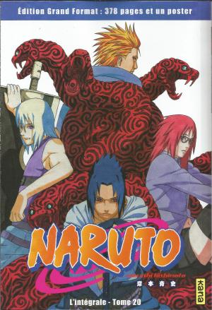 Naruto 20 Collector kiosque
