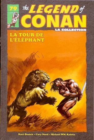 The Savage Sword of Conan 79 TPB hardcover (cartonnée)