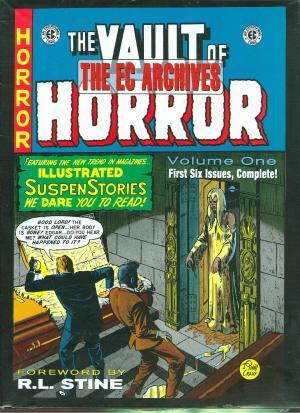 The Vault of Horror édition TPB Hardcover (cartonnée)