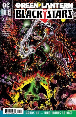 Green Lantern - Blackstars # 3 Issues