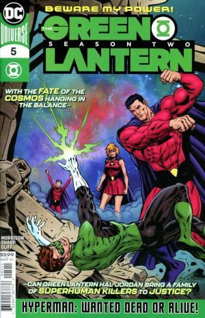 The Green Lantern : Season Two # 5 Issues