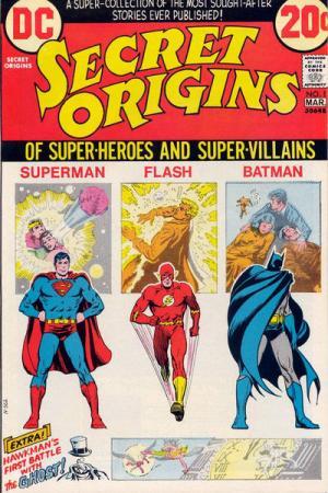 Secret Origins # 1 Issues V1 (1973 - 1974)