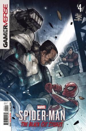 Marvel's Spider-Man - Le casse de Black Cat # 4 Issues
