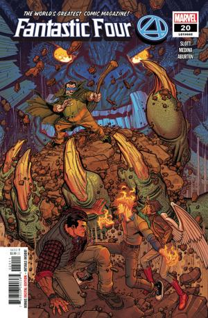 Fantastic Four # 20 Issues V6 (2018 - Ongoing)