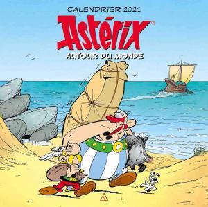 couverture, jaquette Astérix autour du monde - Calendrier 2021   (Albert René)