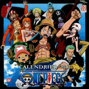 Calendrier One Piece édition 2017