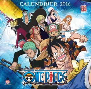 Calendrier One Piece édition 2016