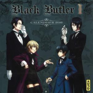 Calendrier Black Butler édition 2016