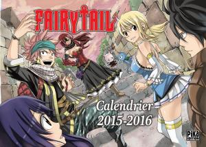 Calendrier Fairy Tail édition 2015-2016