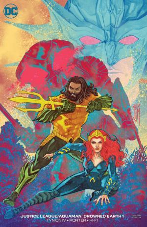 Justice League / Aquaman - Drowned Earth 1 - Francis Manapul variant
