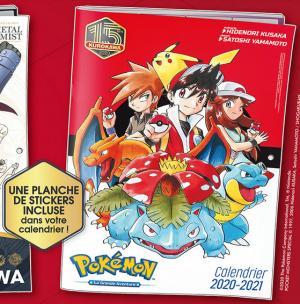 Calendrier Pokemon édition 2020-2021