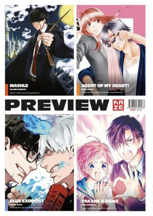 Manga Preview Kazé 6 Simple
