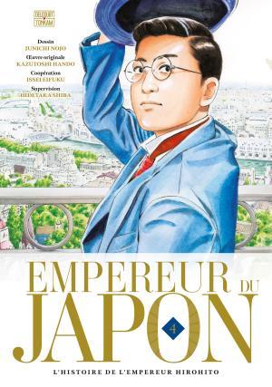 couverture, jaquette Empereur du Japon 4  (delcourt / tonkam) Manga