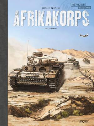 Afrika Korps 2 Cartonné dos toilé