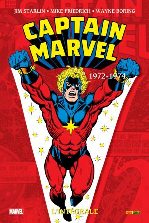 Captain Marvel 1972 TPB Hardcover - L'Intégrale