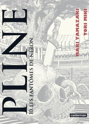 couverture, jaquette Pline 10  (casterman manga) Manga