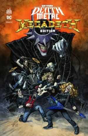 Batman - Death Metal édition TPB Hardcover (cartonnée) - megadeth edition