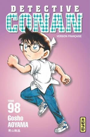couverture, jaquette Detective Conan 98