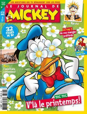 Le journal de Mickey 3587 Simple