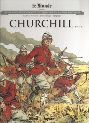 Les grands personnages de l'histoire en bandes dessinées 13 - CHURCHILL tome 1