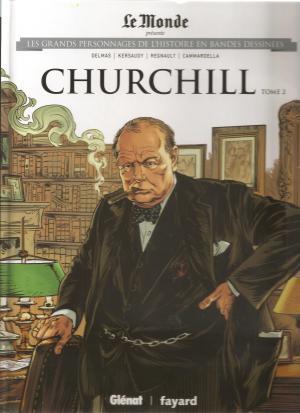 Les grands personnages de l'histoire en bandes dessinées 14 - CHURCHILL tome 2
