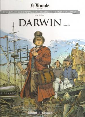 Les grands personnages de l'histoire en bandes dessinées 27 - DARWIN TOME 1