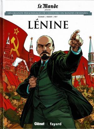 Les grands personnages de l'histoire en bandes dessinées 7 - lénine
